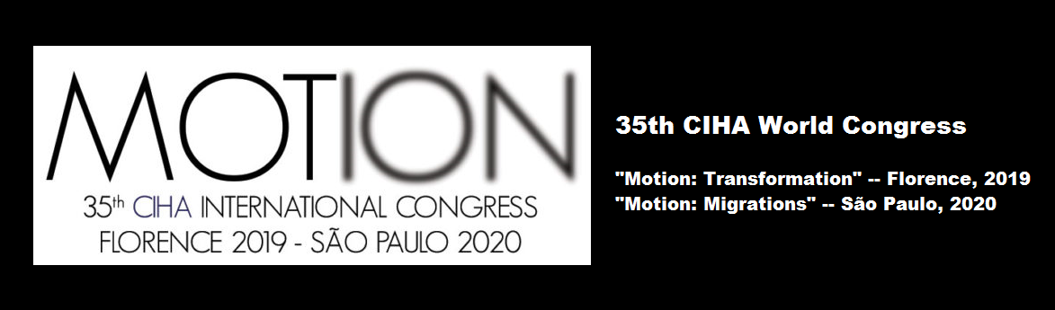 CIHA World Congress MOTION 2019/2020